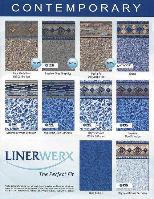 Pool Liner Patterns